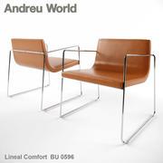 Andreu World Lineal Comfort BU0596 3d model