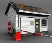 guardhouse 3d model