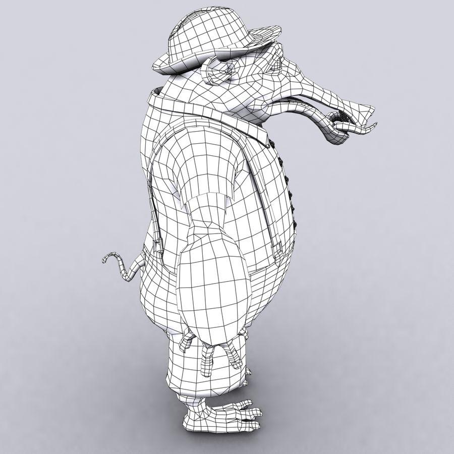 świnka royalty-free 3d model - Preview no. 18