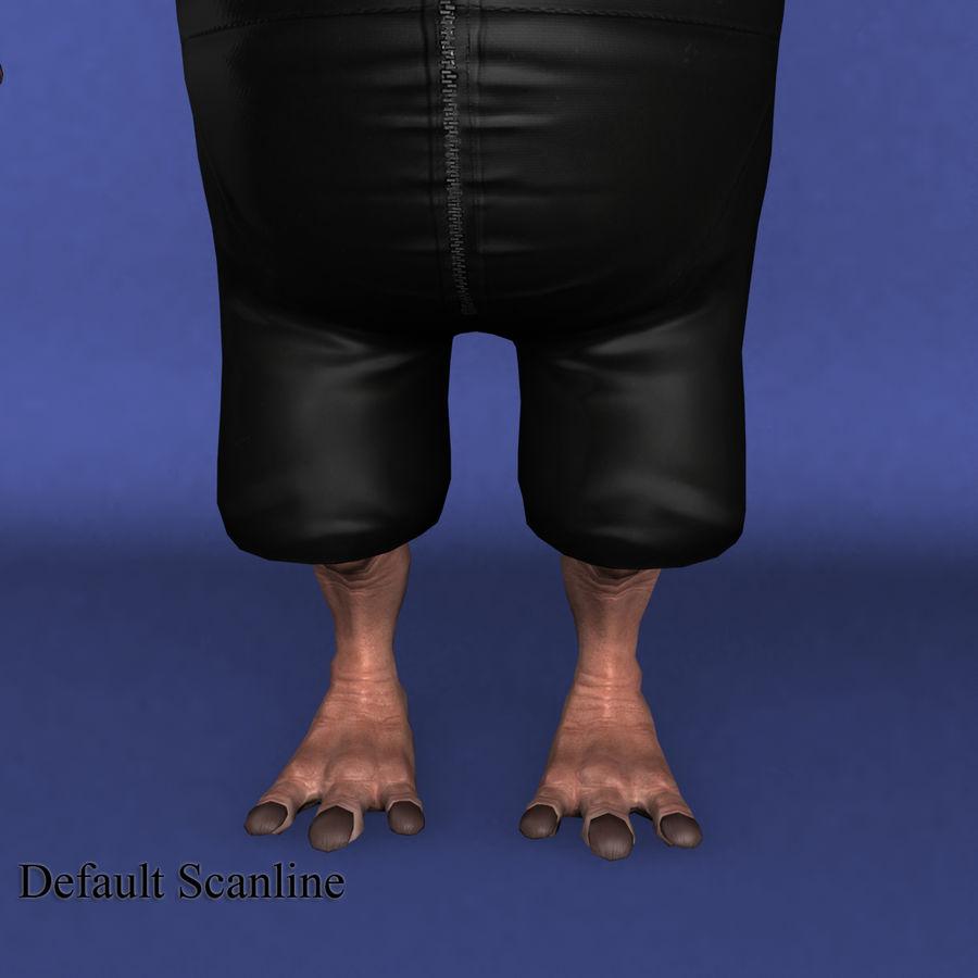 świnka royalty-free 3d model - Preview no. 15
