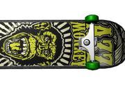 Skateboard monkey 3d model