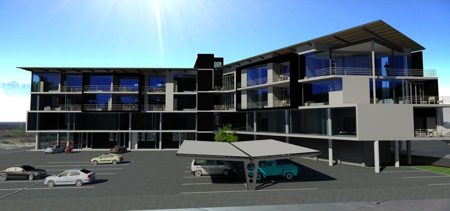 Architecture Building 34 royalty-free 3d model - Preview no. 1