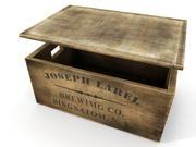 låda 3d model