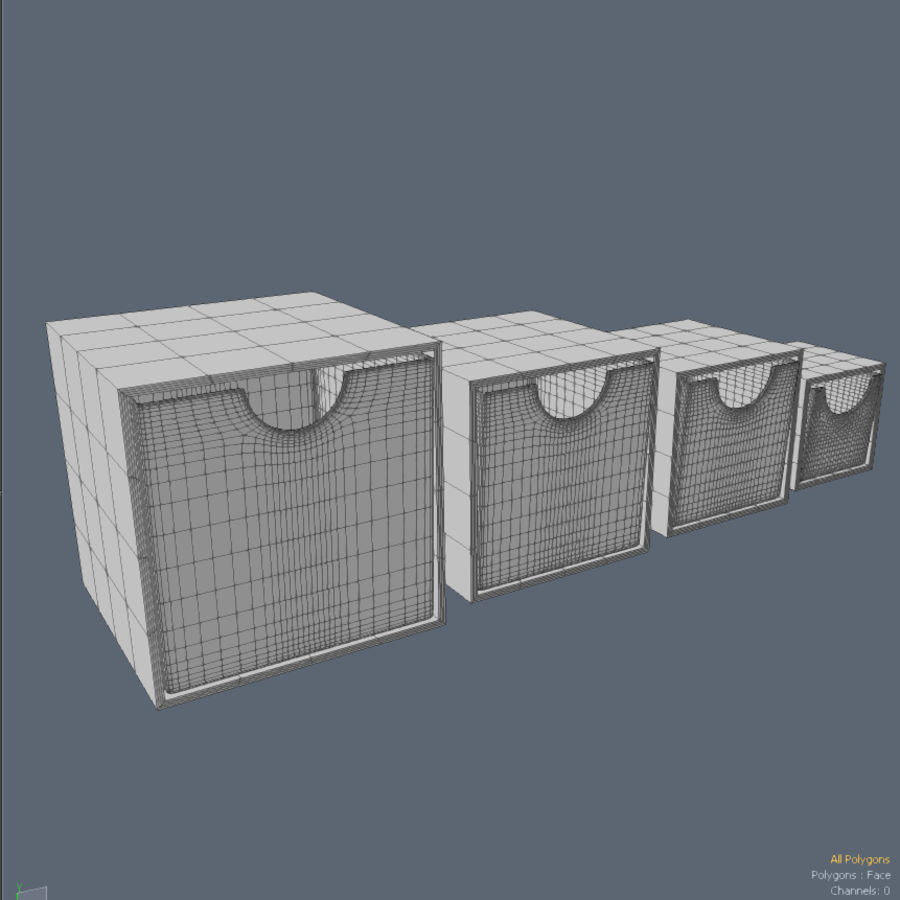 IKEA PS 박스 royalty-free 3d model - Preview no. 5