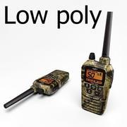 militär radio 3d model