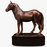 Paardenbeeldje 2K 3d model