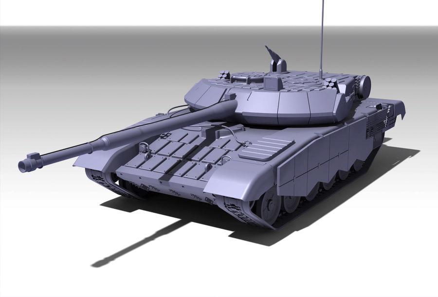 Réservoir T90 (1) royalty-free 3d model - Preview no. 4