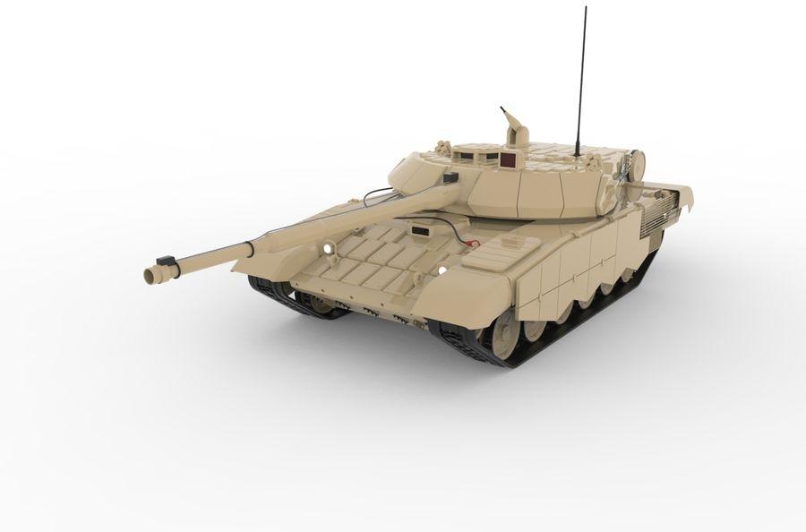 Réservoir T90 (1) royalty-free 3d model - Preview no. 1