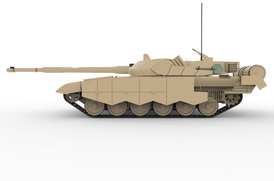 Réservoir T90 (1) royalty-free 3d model - Preview no. 2