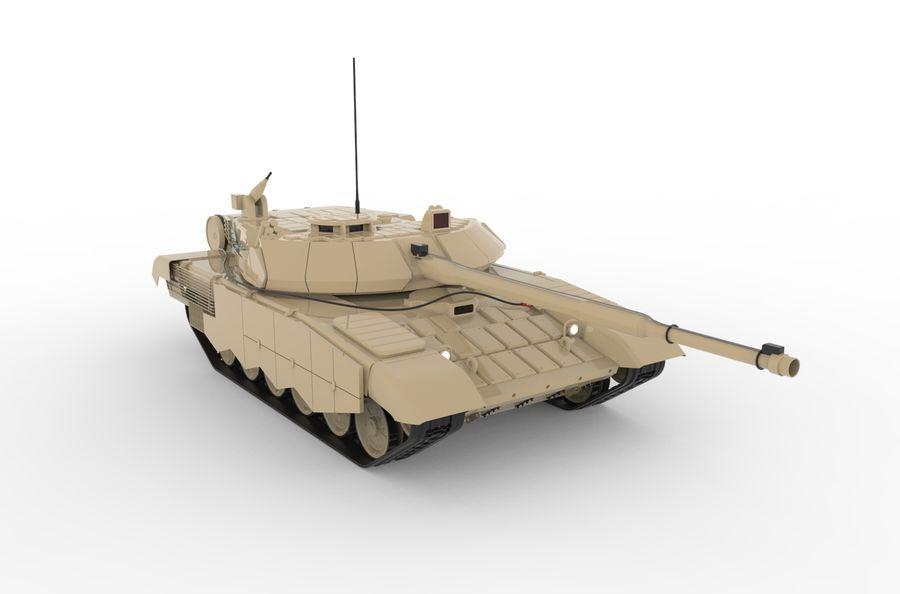Réservoir T90 (1) royalty-free 3d model - Preview no. 3