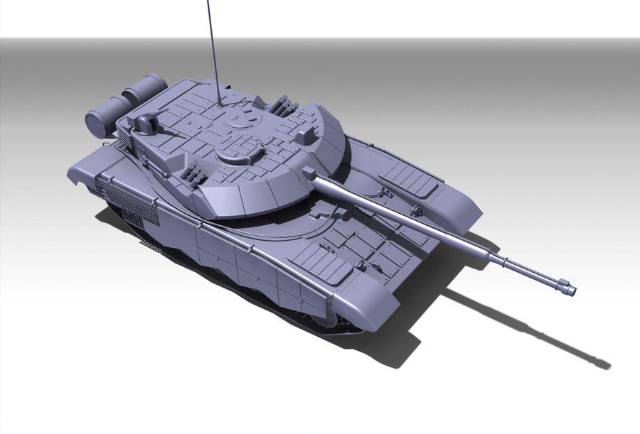 Réservoir T90 (1) royalty-free 3d model - Preview no. 5