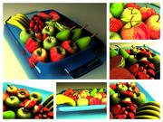 fruit basket 3d model