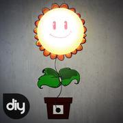DIY Sunflower Decorative Light Lamp 3d model