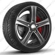 Sklad Sakura Rim and Tire 3d model