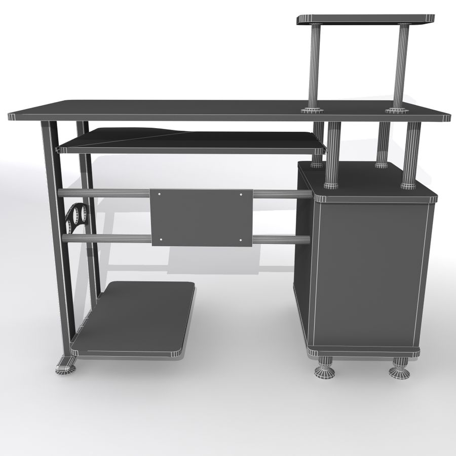 Datorbord royalty-free 3d model - Preview no. 8
