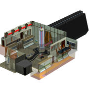 Engineering Room XT 3d model