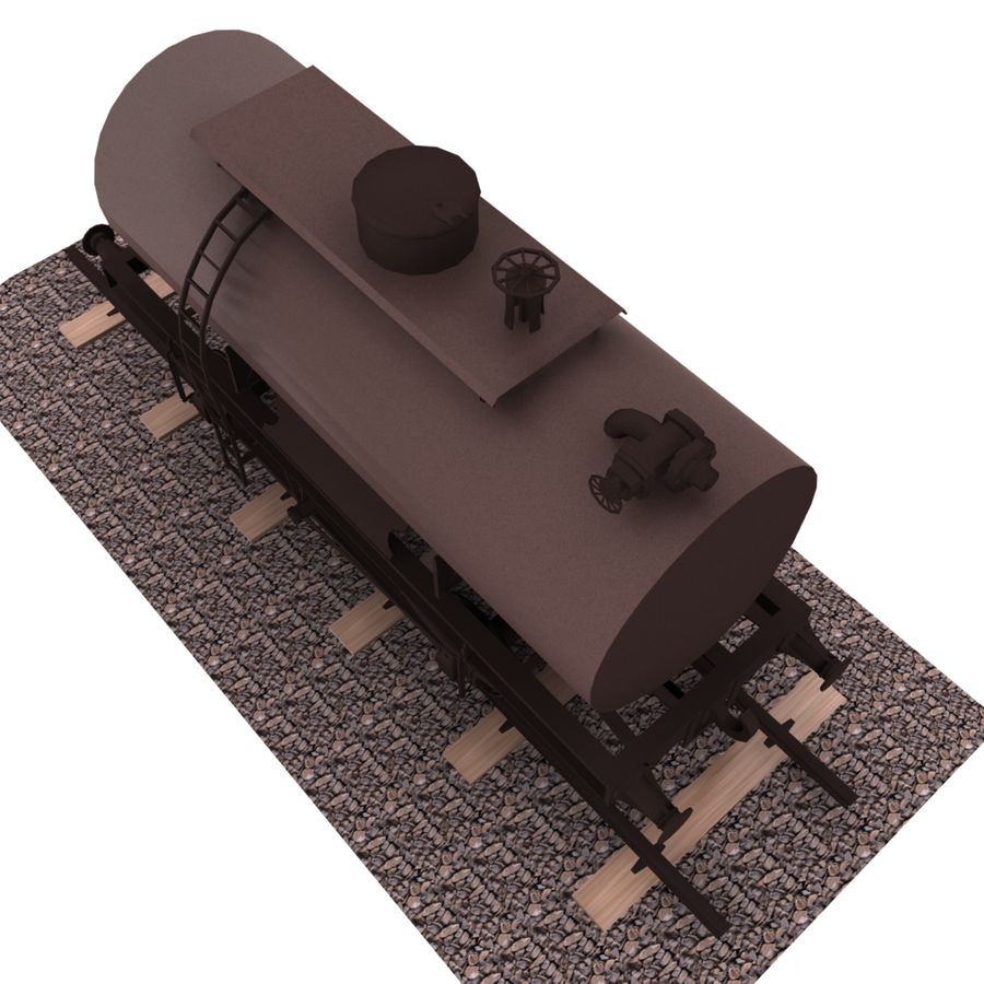 Tankwagen royalty-free 3d model - Preview no. 6