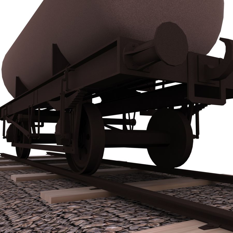 Tankwagen royalty-free 3d model - Preview no. 5