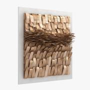 Jeanne Opgenhaffen Puls Ceramika grafika ścienna 3d model