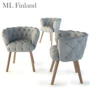 Finlandiya Chaire 3d model