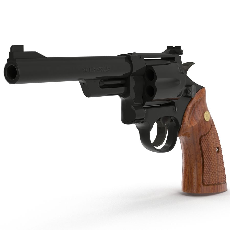 Revolvers-collectie royalty-free 3d model - Preview no. 33