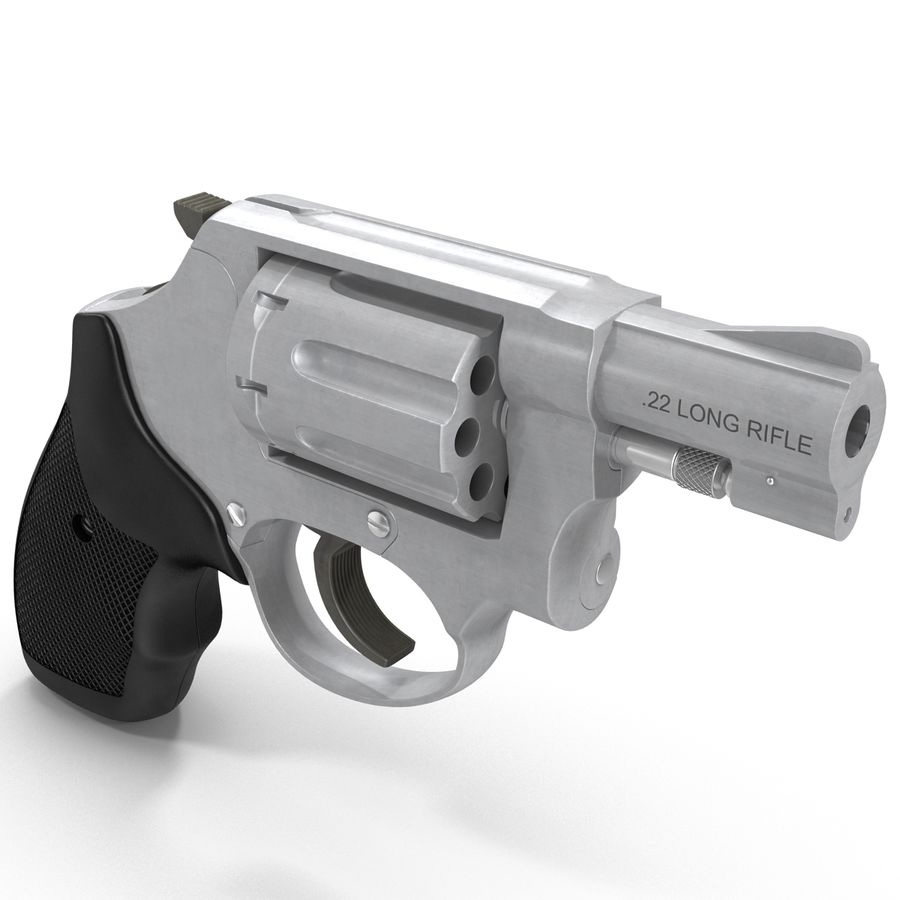 Revolvers-collectie royalty-free 3d model - Preview no. 59
