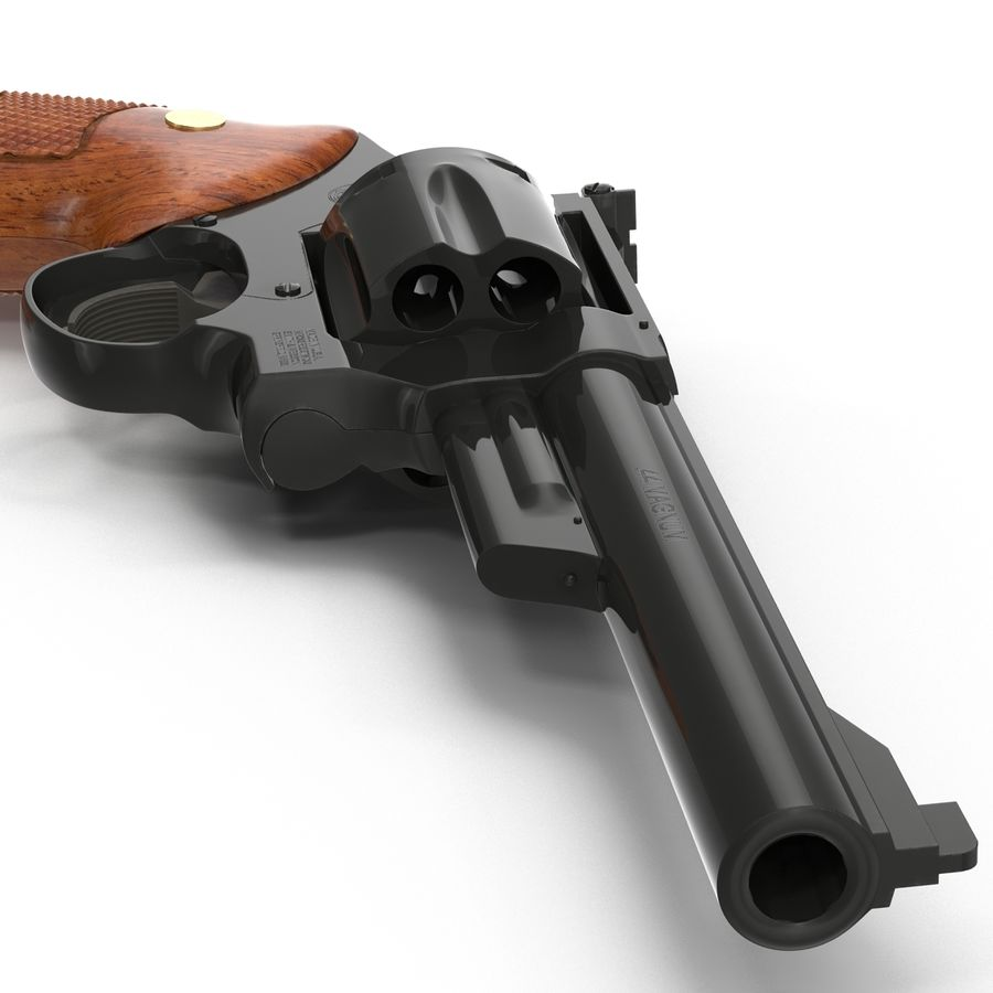 Revolvers-collectie royalty-free 3d model - Preview no. 45