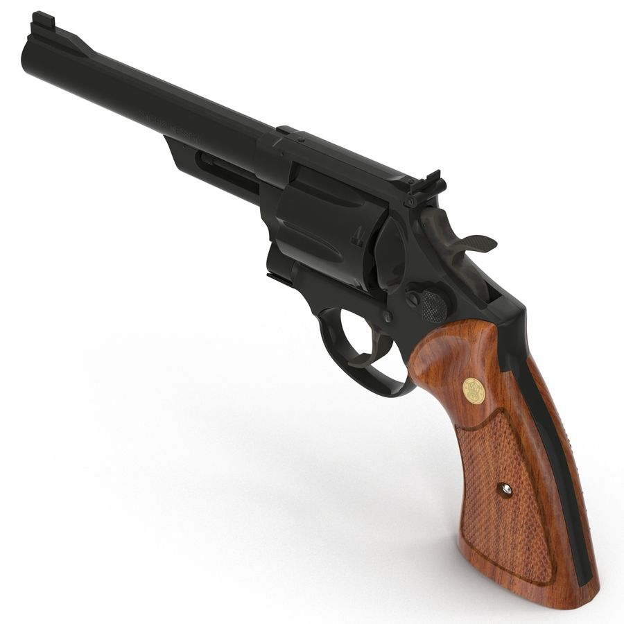 Revolvers-collectie royalty-free 3d model - Preview no. 34