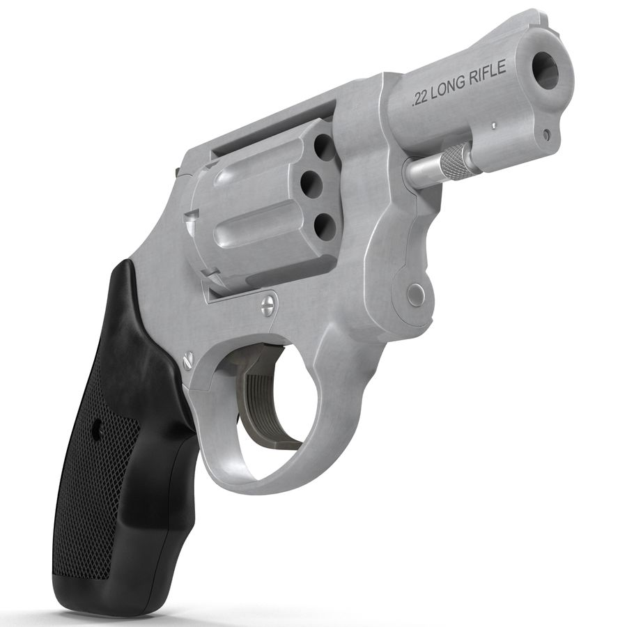 Revolvers-collectie royalty-free 3d model - Preview no. 58