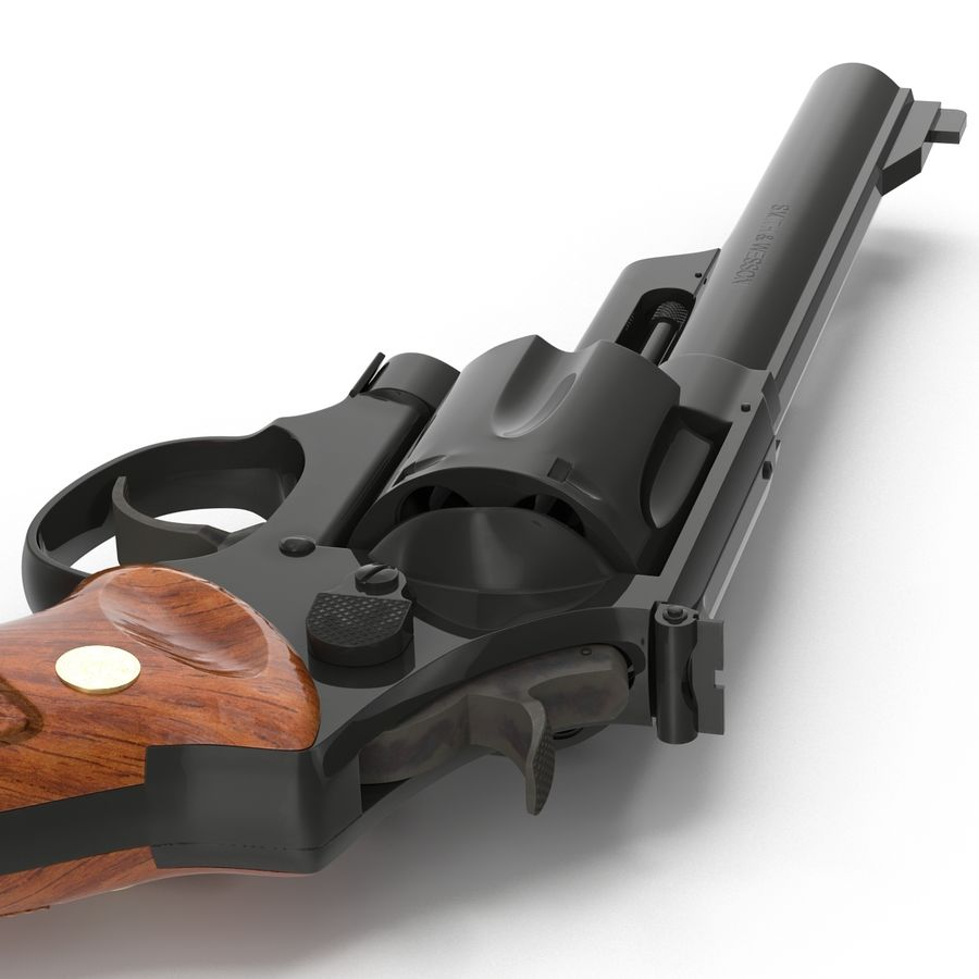 Revolvers-collectie royalty-free 3d model - Preview no. 43