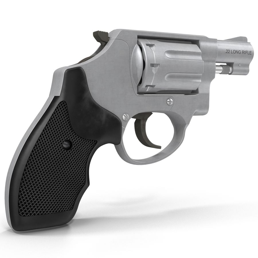 Revolvers-collectie royalty-free 3d model - Preview no. 61