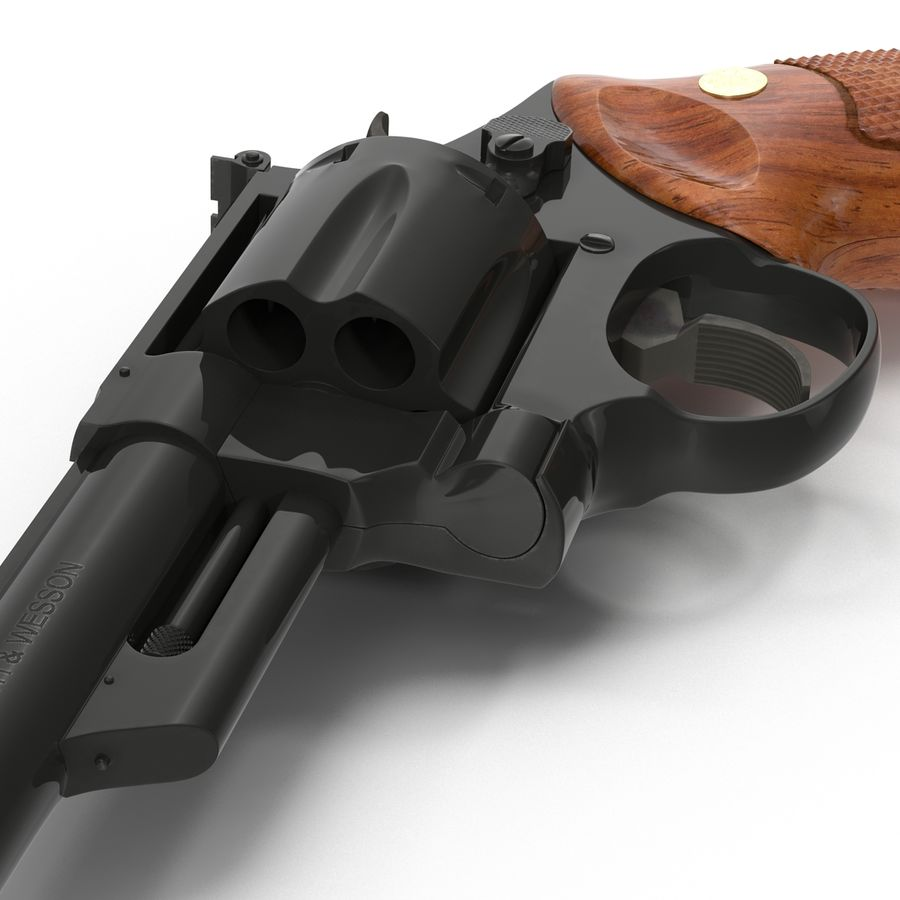 Revolvers-collectie royalty-free 3d model - Preview no. 38
