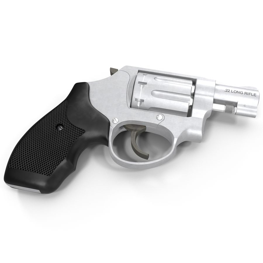 Revolvers-collectie royalty-free 3d model - Preview no. 48