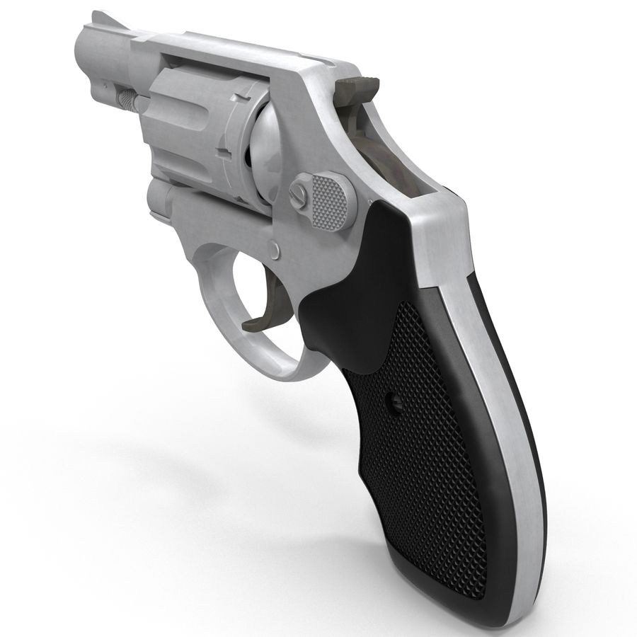 Revolvers-collectie royalty-free 3d model - Preview no. 60