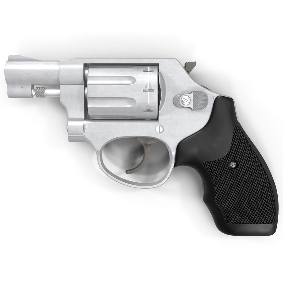 Revolvers-collectie royalty-free 3d model - Preview no. 49