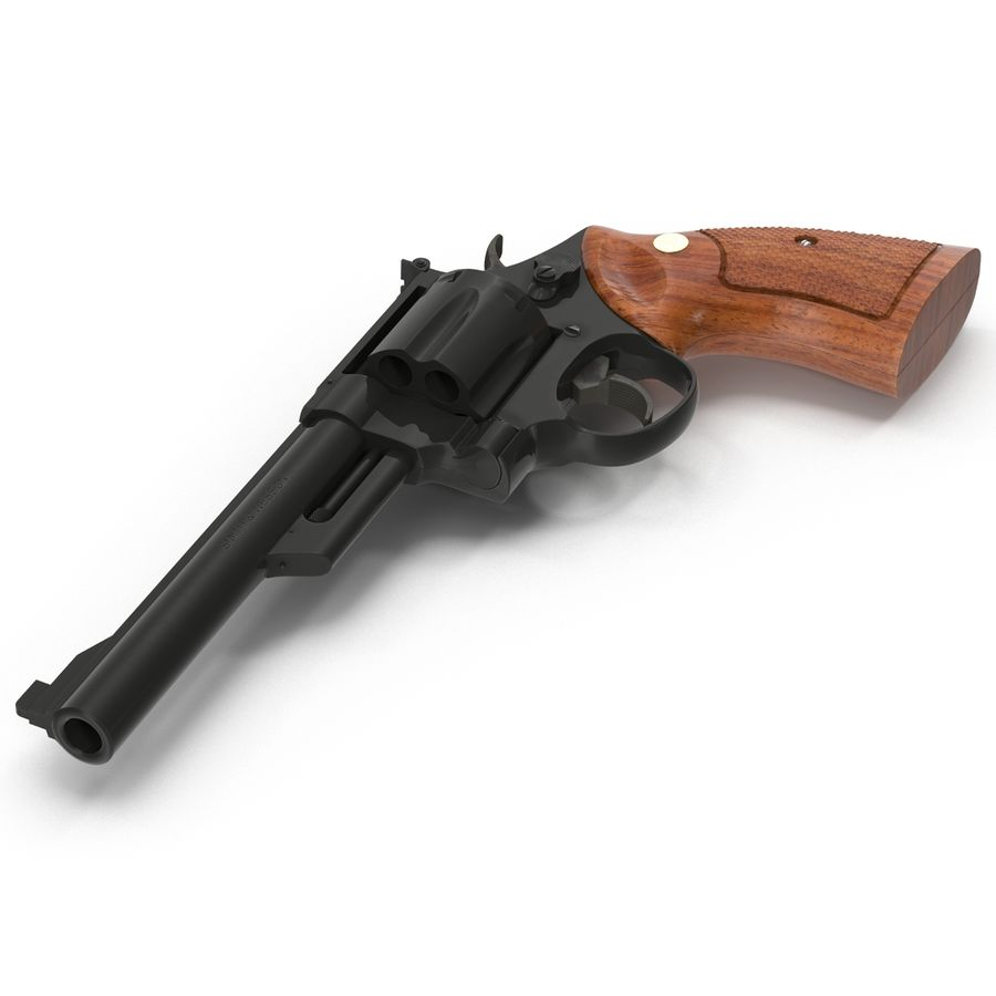 Revolvers-collectie royalty-free 3d model - Preview no. 37