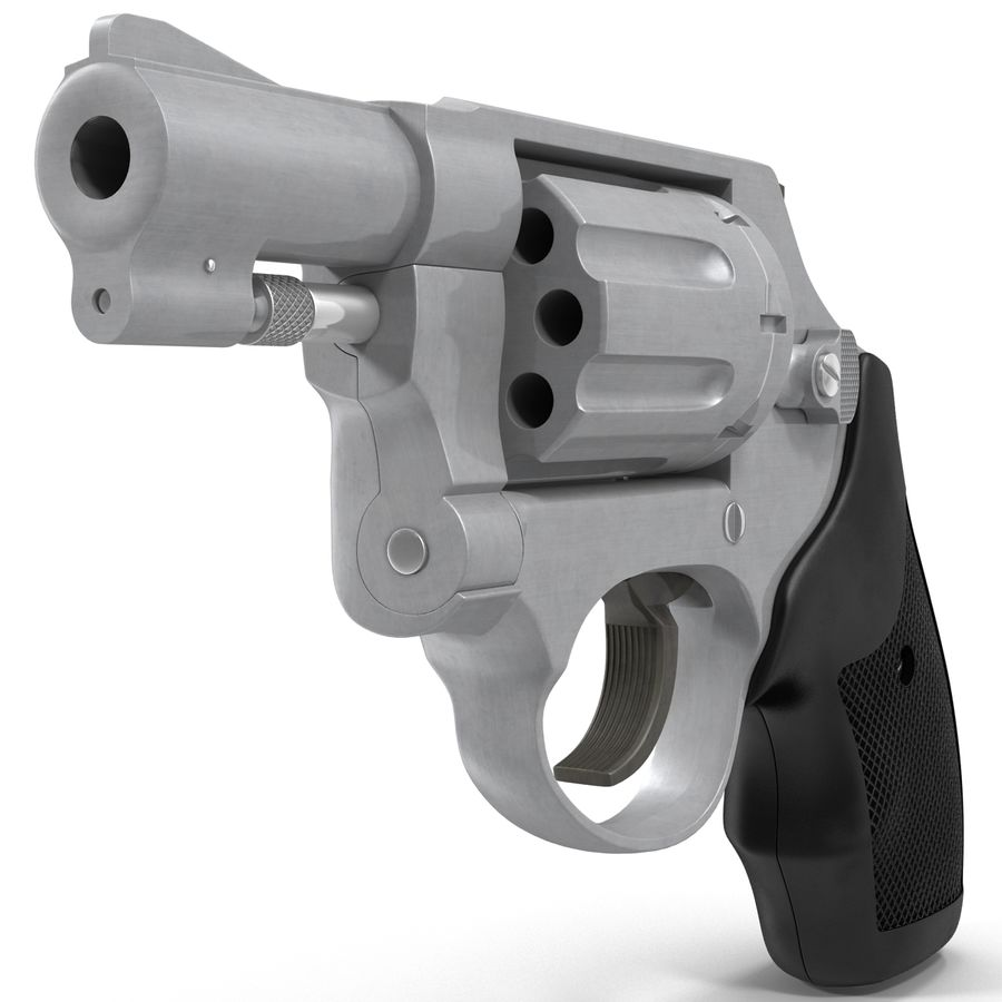 Revolvers-collectie royalty-free 3d model - Preview no. 57