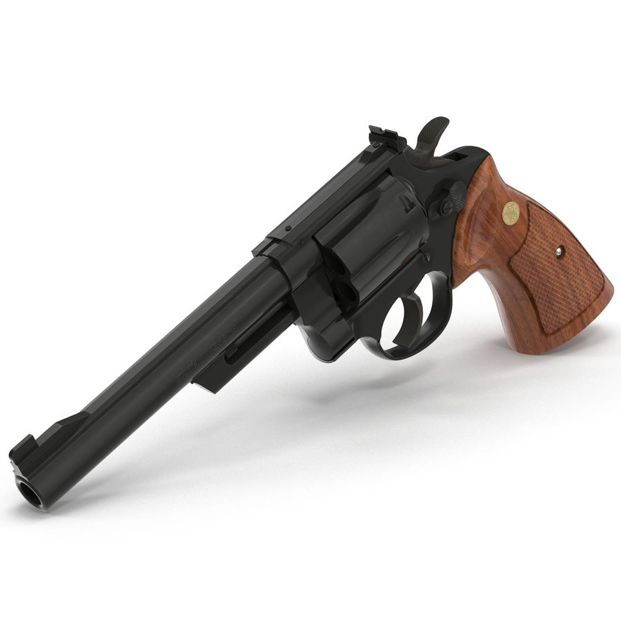 Revolvers-collectie royalty-free 3d model - Preview no. 46