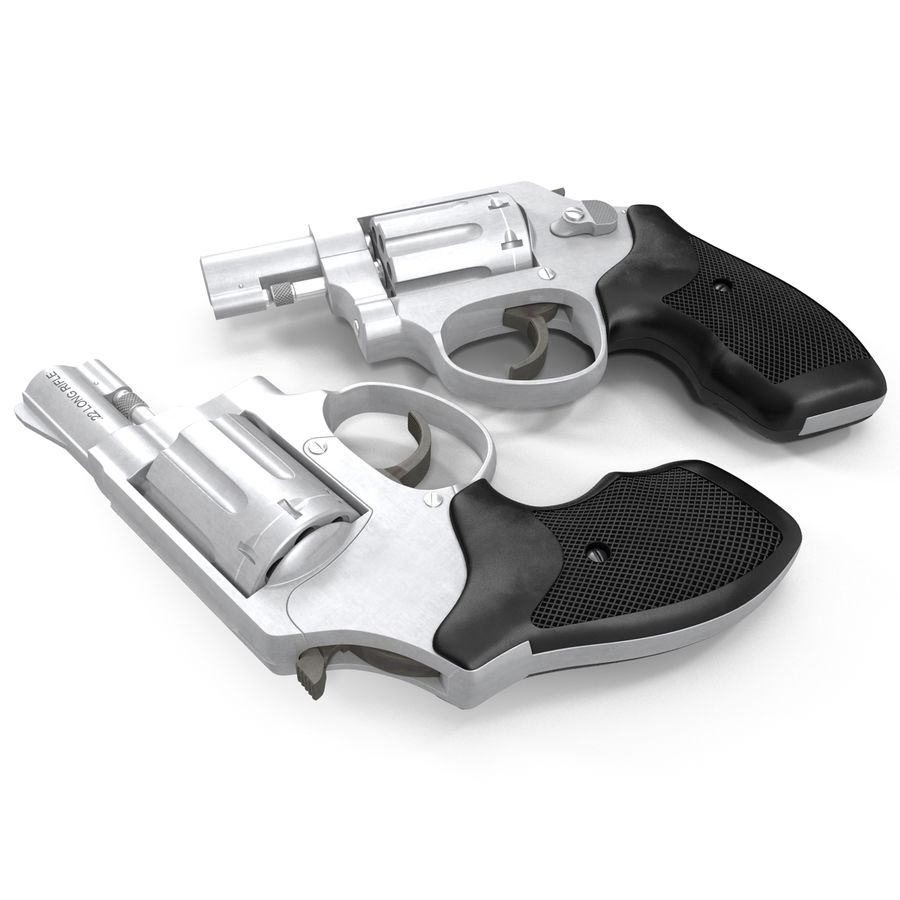 Revolvers-collectie royalty-free 3d model - Preview no. 62