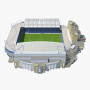 Stamford Bridge Stadium 3d model