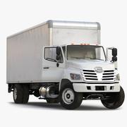 Caminhão de carga equipado 3d model
