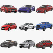 Generic Cars Collection 3d model