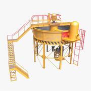 Industrial Mixer 3d model