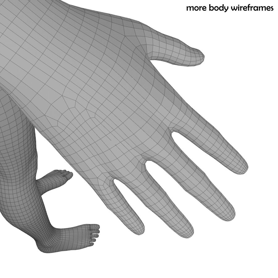 Fitness Model A5 royalty-free 3d model - Preview no. 79