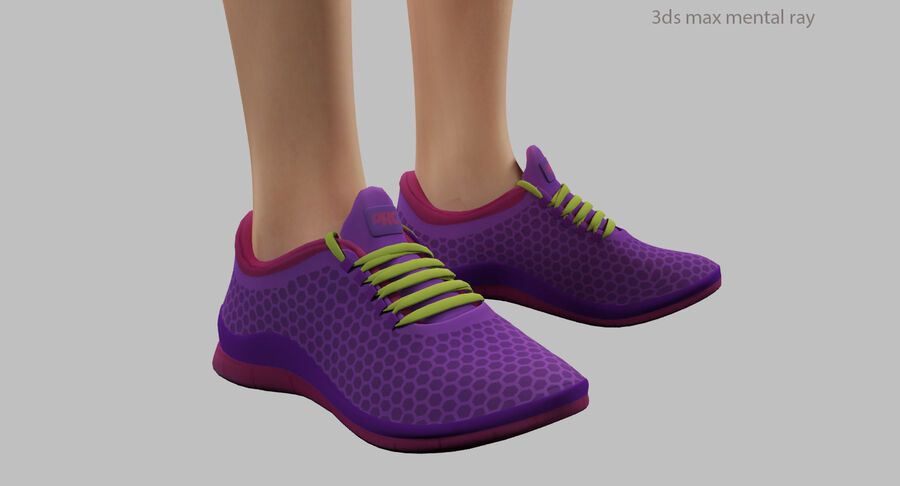 Fitness Model A5 royalty-free 3d model - Preview no. 52