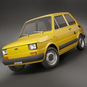 fiat 126 personal 1978 3d model