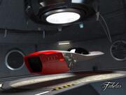 아우디 칼라마로 + 차고 3d model