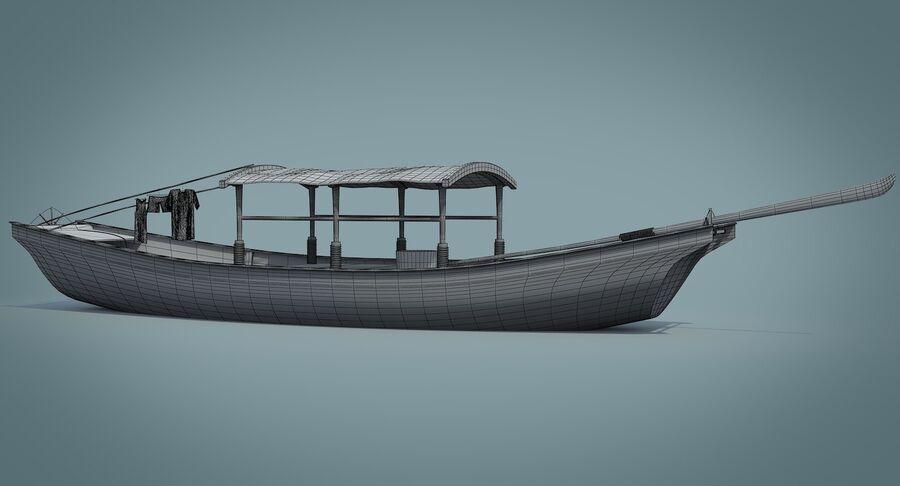 중국 보트 1 royalty-free 3d model - Preview no. 27