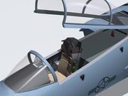 Cockpit du F-15C. 3d model