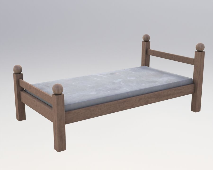 Мебель royalty-free 3d model - Preview no. 2